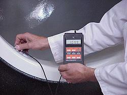 Контроль эмалированного покрытия