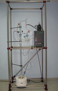 Лабораторная колонна с ручным управлением