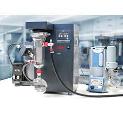 Система роторный испаритель, криоловушка CT50 OLE, вакуумная система