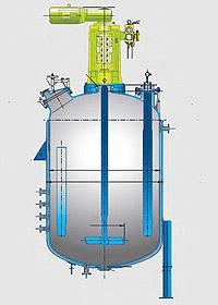 Серия BE. Эмалированные реакторы цельносварные