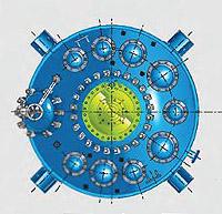 Серия СE. Эмалированные реакторы цельносварные с крышкой