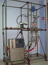 Химический лабораторный реактор Steddy на стенде