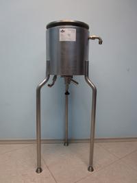 Емкость стального реактора 10 л