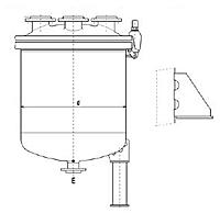 Ёмкости хранения вертикальные с большой крышкой (Estrella, Швейцария)