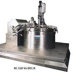 Фильтрующая центрифуга на платформе