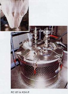 Съёмный мешок для центрифуги