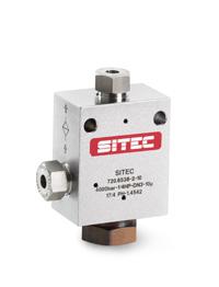 Клапаны высокого давления SITEC (Швейцария)