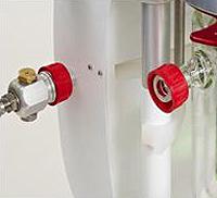 Быстроразъемное соединение для шланга теплоносителя